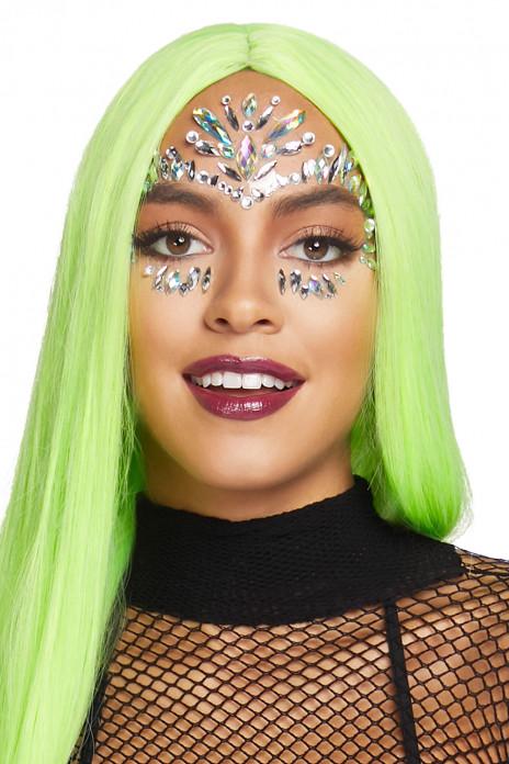 Iris Face Jewels Sticker