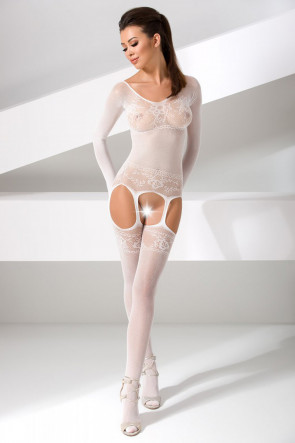 Bodystocking BS055 vit