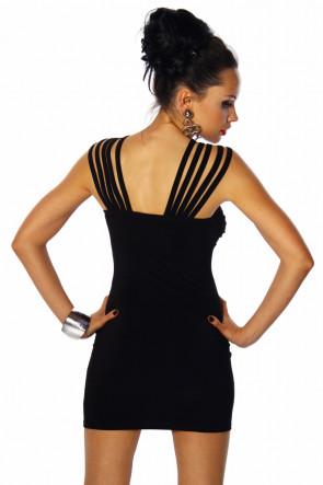 Crossed Shoulderstraps Minidress