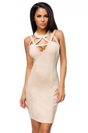 Elegant Strappy Party Dress