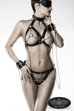 Chain Bra Set
