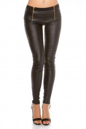 Leatherlook Pants
