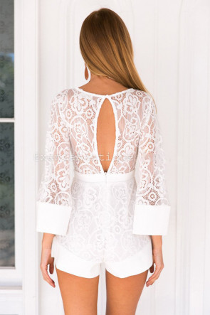 Lovely Lace Playsuit