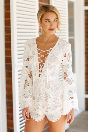 Lace On Life Playsuit