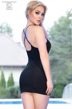 Sexy mini dress black