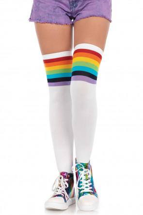 Over The Rainbow Knee Highs