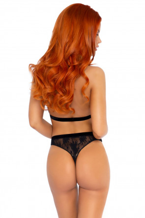 Halter top & thong panty
