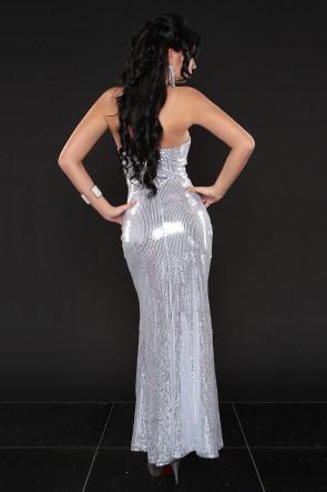Sexy Sequin strapless dress
