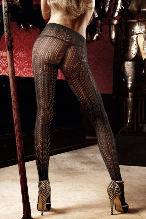 Black Net Pantyhose