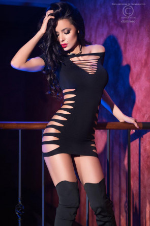 Sexy Seamless Minidress