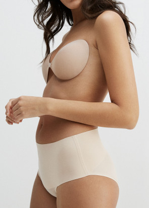 Freebra Natural Shaping LUX bandlös bh A-F kupa beige