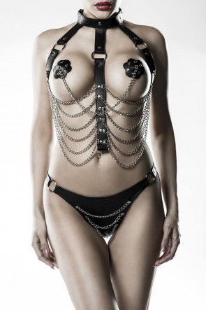 Exclusive 3pc Chain Harness Set