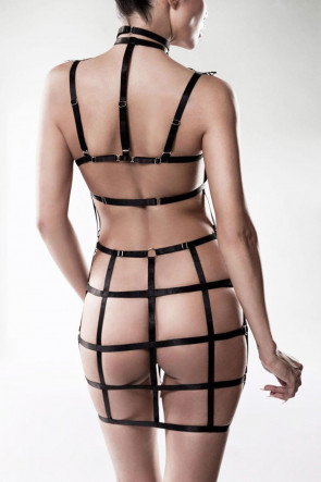 Exclusive 2pc Lace Harness Set