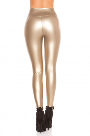 Wetlook Thermo Leggings - Gold