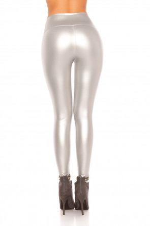 Wetlook Thermo Leggings - Silver