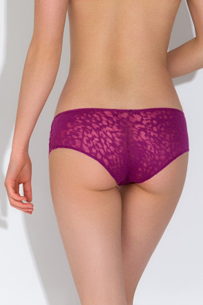 Fancy Animal Boyshort - Plum
