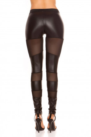 Wetlook Leggings Transparent