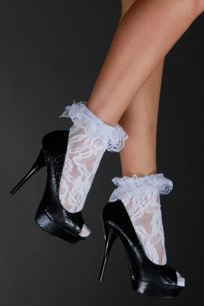 Ruffle anklets