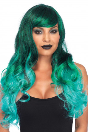 Ombre Jewel Long Wavy Wig