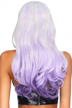 Allure Multi Color Wig Grey & Purple