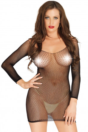 Ring Net Minidress