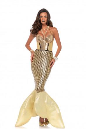 Golden Glimmer Mermaid