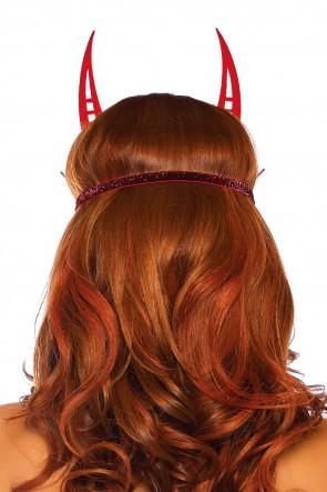Glitter Devil Mask