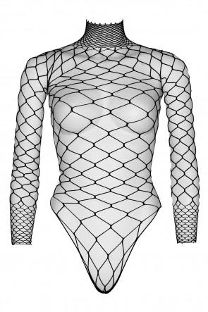 Turtleneck Fishnet Teddy