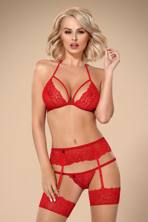 Red lace set 838
