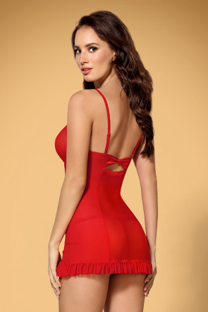 Underwire Chemise & Thong