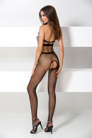 Bodystocking BS048 Black