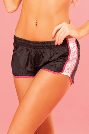 Sequin Sparkle Running Short