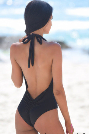 Selma Deep Plunge One Piece