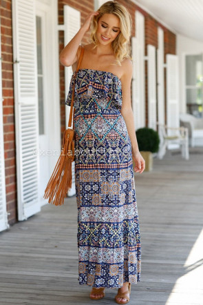 Beach Bar Maxi Dress