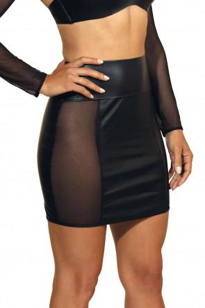 Queen of the Night - Mesh Skirt