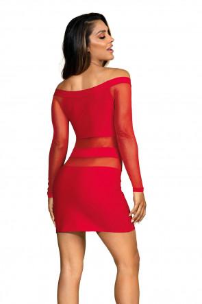 Party At Ibiza - Minidress Red